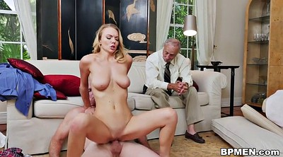 Granny blowjob, Old man