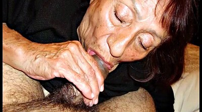 Compilation, Old young, Mature granny
