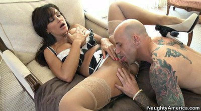 Lisa ann, Big tits mom, Busty mom, Mom lick
