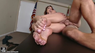 Hot office, Office feet, Lick foot