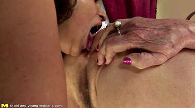 Hairy mature, Young lesbian, Hairy mature lesbian