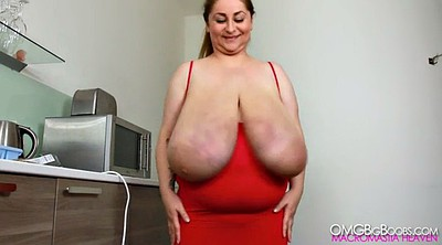 Red milf, Natural