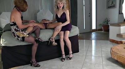 Crossdressers, Lesson, Crossdresser blowjob