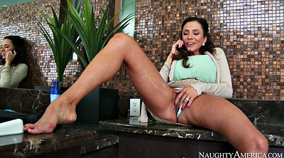 Phone, Ariella ferrera, Shower solo, Clit on clit
