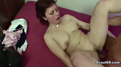 Bbw, Mother, Mother son, Old granny, Young couple, German bbw