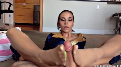 Pantyhose footjob, Pantyhose feet