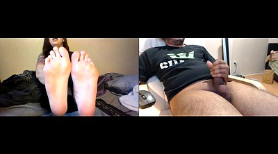 Foot, Webcam, Indian feet, Humiliation