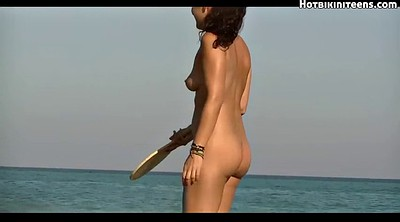 Nudist beach, Beach ass