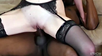 Leigh, Rose, White dick, Huge pussy