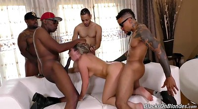 Gangbang creampie, Blacked creampie, Black group, Black ebony