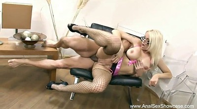 French blonde, Cougar anal