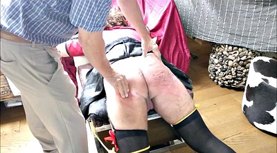 Spanking, Crossdress, Hard spanking