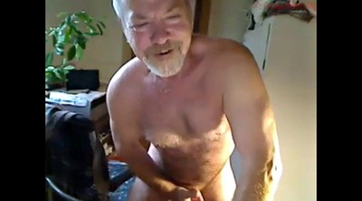 Masturbating, Mature man