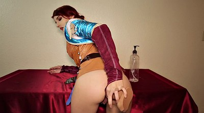Cosplay, Anal redhead