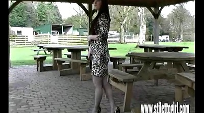 High heels, Shoes, Walking