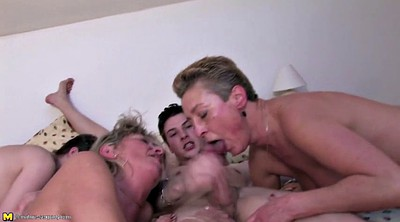 Granny, Mom gangbang, Young boy, Mom boy, Mom sex, Boy mature