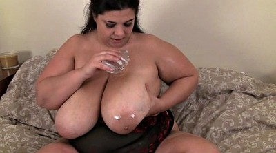 Boobs solo, Bbw solo