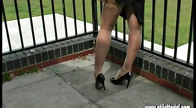 Nylon, High-heels, High heels, Nylon foot