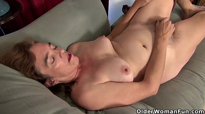 Hairy mature, Nylon mature, Hairy granny