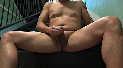 Public outdoor, Masturbating