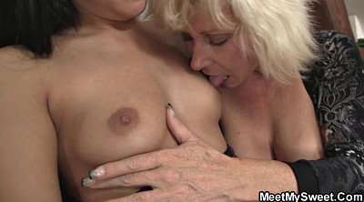 Old mom, Mom dad, Mom and dad, Granny threesome, Young dad, Mom riding