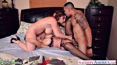 Two, Big mature, Threesomes, Lucky guy