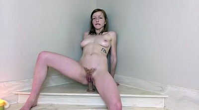 Squirting, Riding dildo, Dildo riding
