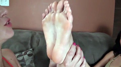 Asian lesbian, Asian foot fetish