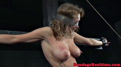 Screaming, Caning, Bigtits, Bond, Caned, Breast bondage