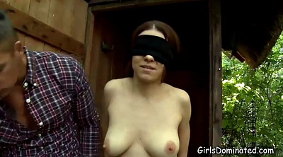 Blindfolded, Blindfold, Nipples