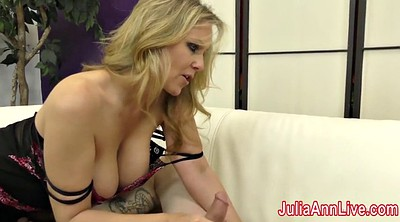 Julia ann, Foot slave, Cum on feet