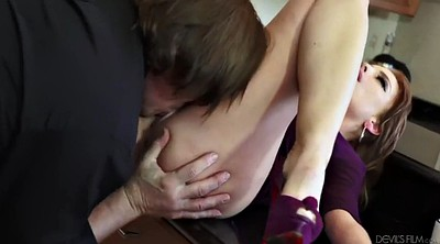 Handsome, Boss, Doggystyle, Wife orgasm, Boss wife