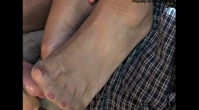 Nylon feet, Nylon foot, Cum on feet, Stock, Foot tease, Stocking feet