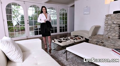 Footing, Angela white, Angela, Milf feet