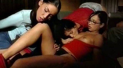 Young girls, Threesome anal