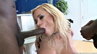 Anal interracial, Blonde dp