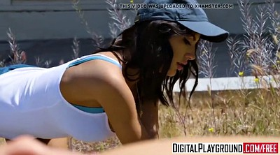 August ames, Digitalplayground, Broke