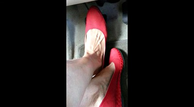 Mature feet, Mature foot, Shoes, Foot compilation