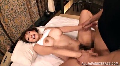 Cowgirl orgasm, Asian chubby