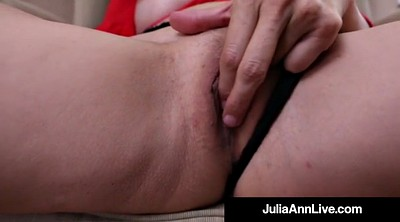 Julia ann, Anne, Mature dildo