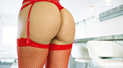 Stocking milf, Red milf