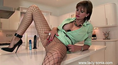 Riding dildo, Ride dildo, British mature