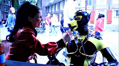 Walking, Dogs, Walk, Latex bdsm, Heart, Dog style