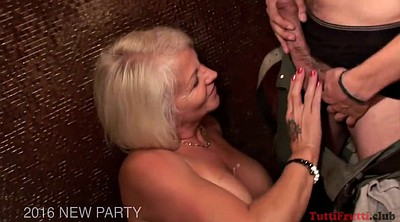 Mature swinger, Mature gangbang