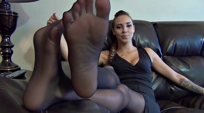 Nylon feet, Nylon foot, Nylons feet