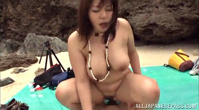 Beach, Asian gangbang