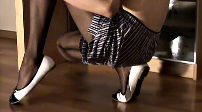Crossdresser, Crossdressing, Pantyhose gay, Black pantyhose, Pantyhose crossdress