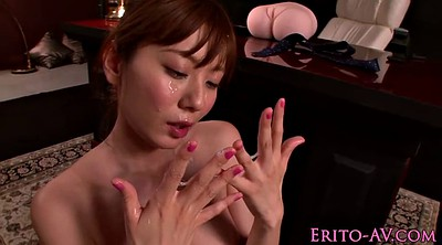 Japanese office, Japanese handjob, Asian office, Brunette