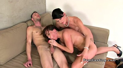 Agent, Female agent, Couple casting, Casting threesome