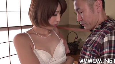 Mature japanese, Japanese mature blowjob